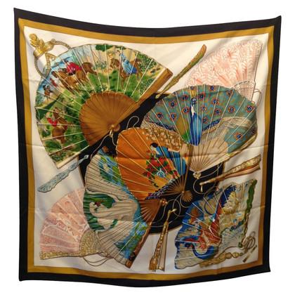 Hermès silk carré scarf