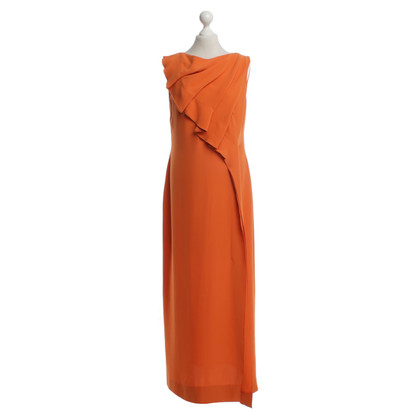 Escada Kleid in Orange