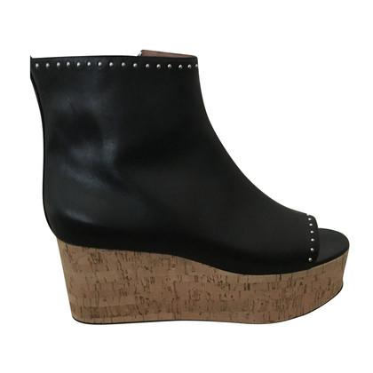 Givenchy Peep Toe Boots