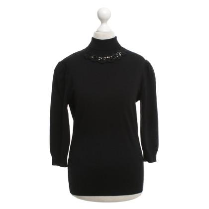 Blumarine Pullover in black
