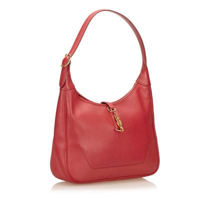 Hermès Clemence Trim Shoulder Bag