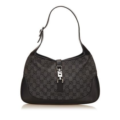 Gucci Jacquard Jackie Shoulder tas