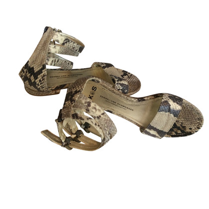 Kennel & Schmenger Sandals of snakeskin