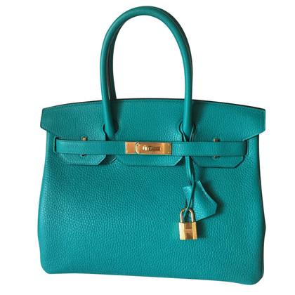 "Hermès ""Birkin Bag 30"" dalla pelle Clemence"