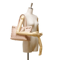 Christian Dior Canvas Panarea Tote