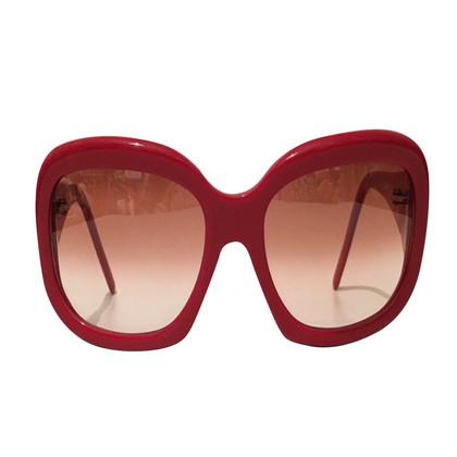 Jean Paul Gaultier Rote Sonnenbrille