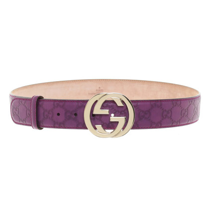 Gucci Belt in purple