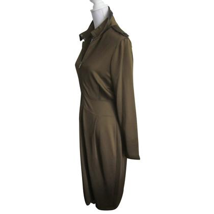Burberry Grünes Kleid
