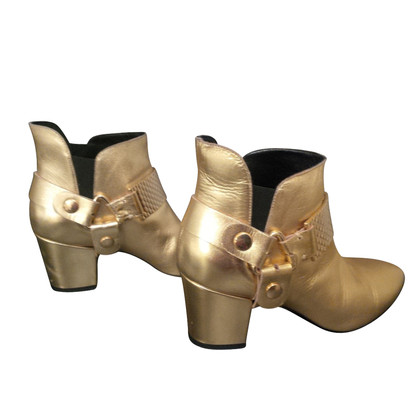 Just Cavalli Ankle boots in gold