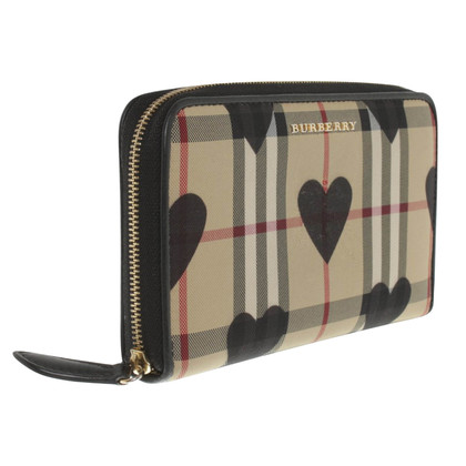 Burberry Wallet with Nova check pattern