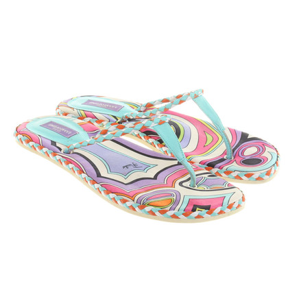 Emilio Pucci Toe separator with pattern