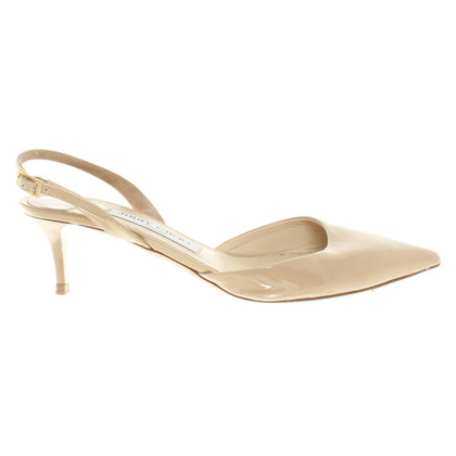 Jimmy Choo in pelle verniciata pumps