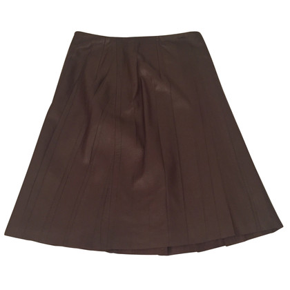 Escada Escada leather skirt