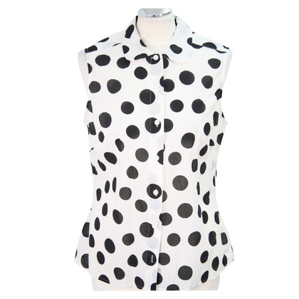 Hobbs Dotted blouse