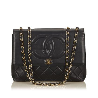 Chanel Maxi CC Lammlederklappe