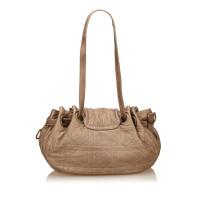 Christian Dior Cannage Nylon Handbag