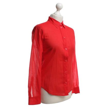 Filippa K Shirt en rouge