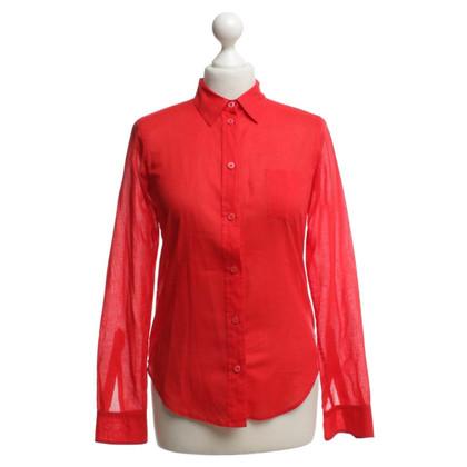 Filippa K Shirt blouse in red