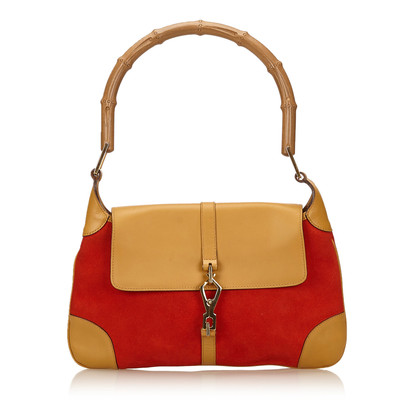 Gucci Bamboo Suede Jackie