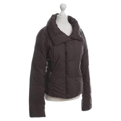 Max Mara Down jacket in Brown