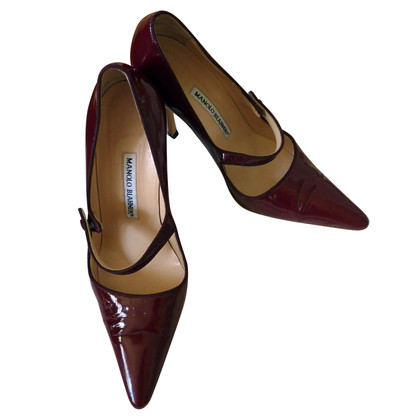 Manolo Blahnik Mary Jane pumps
