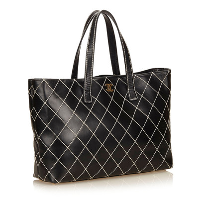 Chanel Leder Surpique Tote