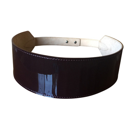 Max Mara Belt in paint and leather