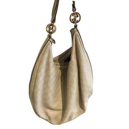 Gucci Hobo Bag with Guccissima embossing