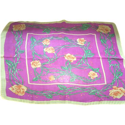 Dolce & Gabbana Sciarpa di seta rosa