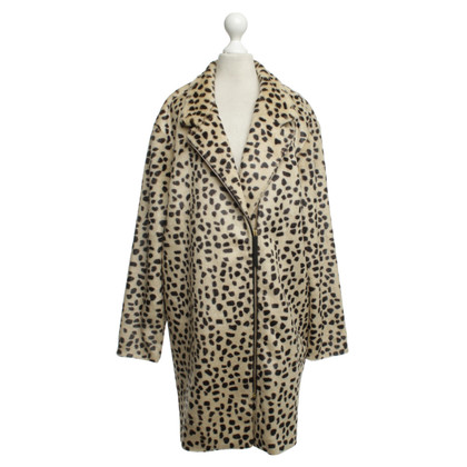 By Malene Birger Jacket with Leopard print
