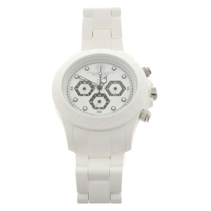 Philipp Plein Clock in white