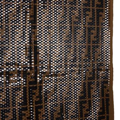 Fendi Polka Dotted Pattern Zucca