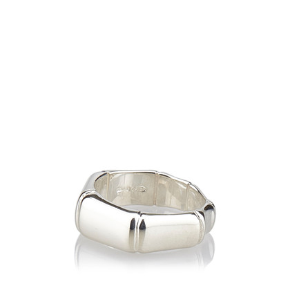 Gucci Sterling Silver Bamboo Ring