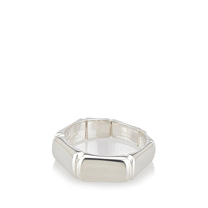 Gucci Sterling Silber Bambus Ring