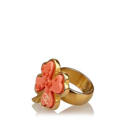 Chanel Clover Leaf Ring