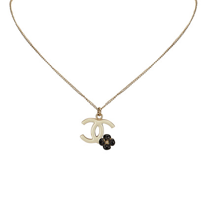 Chanel CC en Camellia Hanger Ketting