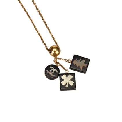 Chanel CC Charm Halskette