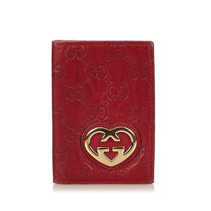 Gucci Copertura del passaporto in pelle