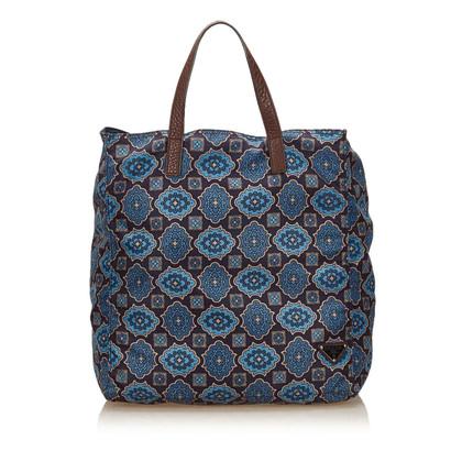Prada Gedrucktes Nylon Tote Bag