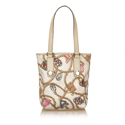 Gucci Printed Satin Tote Bag