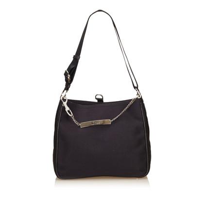 Christian Dior Cotton Shoulder Bag