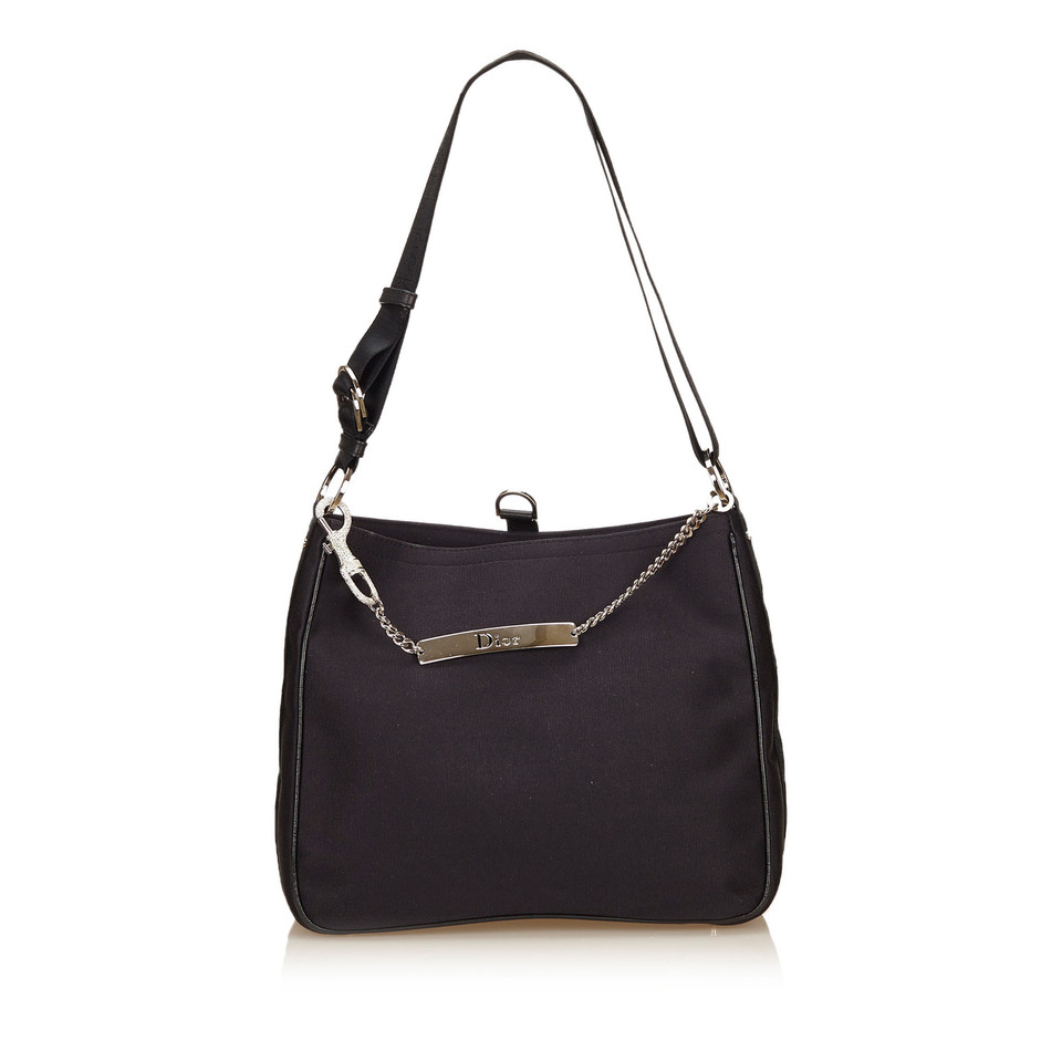 Christian Dior Cotton Shoulder Bag