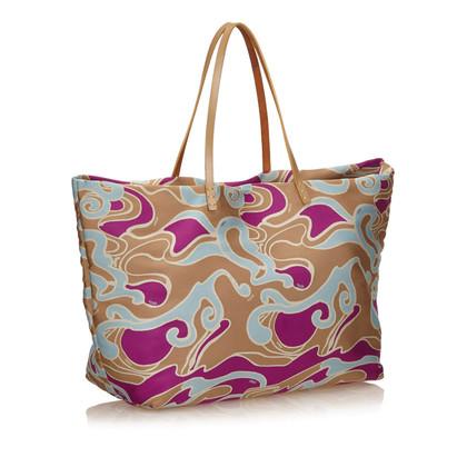 Fendi Gedrukte Jacquard Tote Bag