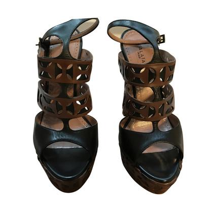 Alaïa platform Sandals