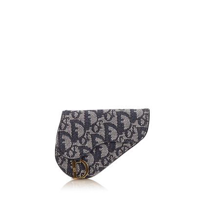 Christian Dior Diorissimo Jacquard Coin Pouch