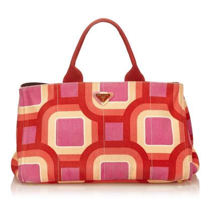 Prada Gedruckt Canapa Tote Bag