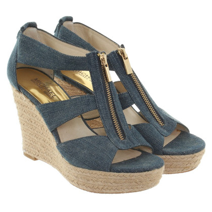 Michael Kors Wedges in blauw