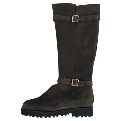 Konstantin Starke Brown suede boots