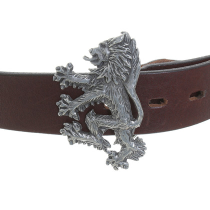 Pringle of Scotland Brown leather belt