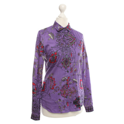 Etro Bluse mit floralem Print